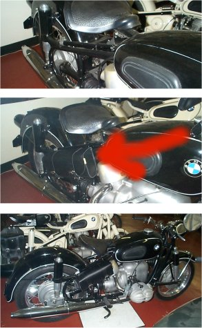 bmw motorcycle parts antique vintage classic    rs